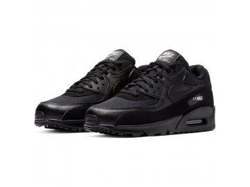 Pánské boty Nike Air Max 90 Ess Černočerné