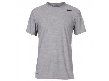 Pánské triko Nike Breathe Šedé