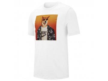 Pánské triko Nike MWD Bílé
