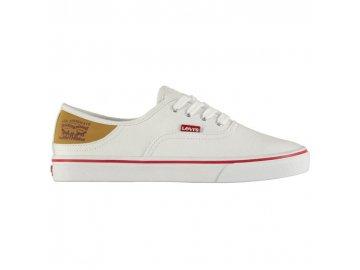 Dámské boty Levis Rular Bílé