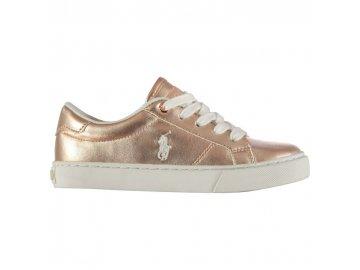 Dámské boty Polo Ralph Lauren Edgewood Zlaté
