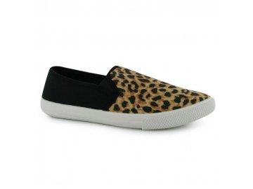 Dámské slipon boty Lee Cooper Leopard