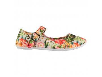 Dámské boty Slazenger Canvas Mary Jane Floral