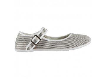 Dámské boty Slazenger Canvas Mary Jane Pruhované