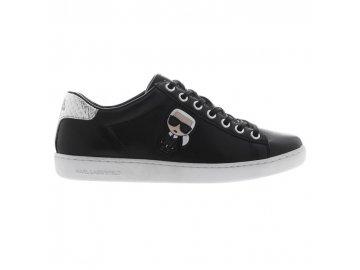 Dámské boty Karl Lagerfeld Ikonic II Lace Černé