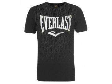 Pánské triko Everlast Geo Print Černé