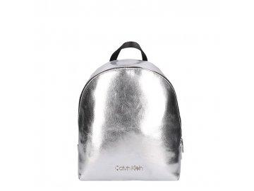 Batoh Calvin Klein Snap Stříbrný