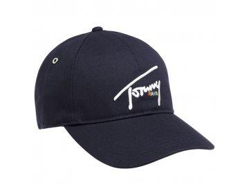 Kšiltovka Tommy Hilfiger Signature Logo Black Iris