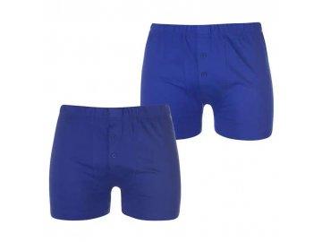 Boxerky Lonsdale 2 v balení Navy/Blue
