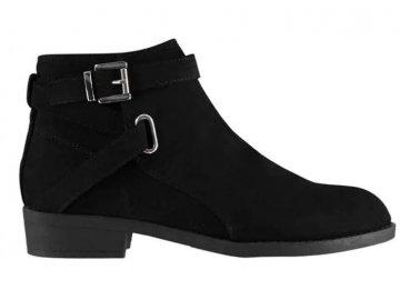 Dámské boty Miso Buck Černé/Stříbrné
