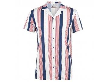 Pánská košile SoulCal Print Multi Stripe