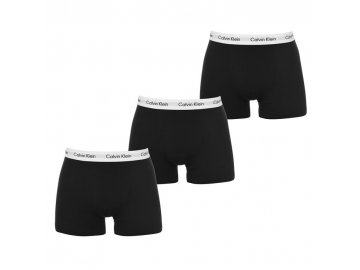 Boxerky Calvin Klein 3 v balení Černé