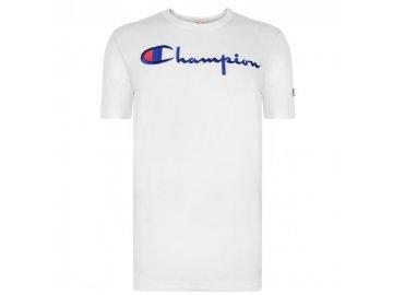 Pánské triko Champion Classic Logo Bílé