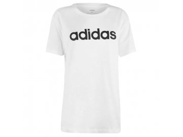 Dámské triko adidas Linear Boyfriend Bílé