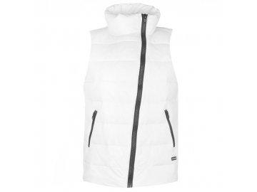 Dámská vesta DKNY Logo Gilet Bílé