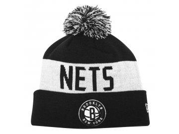 Čepice kulich New Era NBA Team Bobble Brooklyn Nets