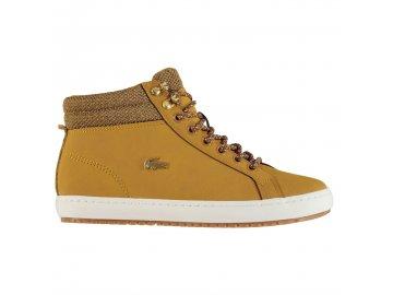 Dámské boty Lacoste Straightset Insulated Tan