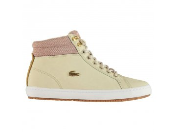 Dámské boty Lacoste Straightset Insulated Natural