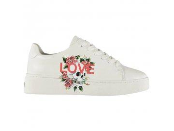 Dámské boty Ed Hardy Love Bílé