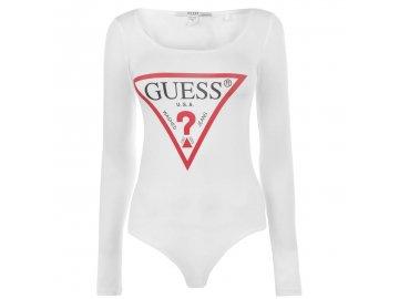 Dámské body Guess Core Bodysuit Bílé