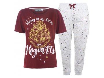 Dámské pyžamo Character PJ Set Harry Potter
