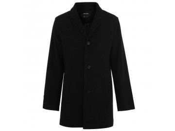 Pánský kabát Firetrap Ran Peacoat Černý