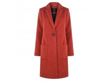 Dámský kabát Only Jacket Červený