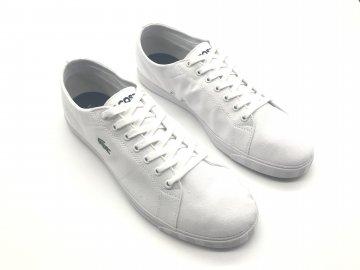 Dámské kožené boty Lacoste Riberac Bílé
