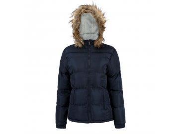 Dámská bunda Lee Cooper Faux Fur Modrá