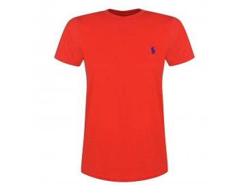 Dámské triko Ralph Lauren Short Sleeved Red 013