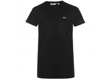 Pánské triko Lee Cooper Essentials Černé