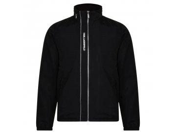 Pánská bunda Karl Lagerfeld Nylon Černá