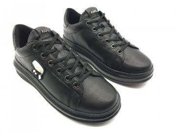 Dámské boty Karl Lagerfeld Kapri Ikonic Černé