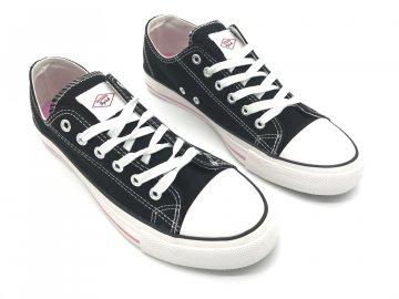 Dámské boty Lee Cooper Canvas Černé