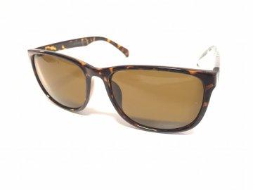 Sluneční brýle Jack and Jones C15 Kávové
