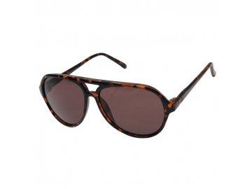 Sluneční brýle Jack and Jones C4 Kávové