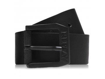 Pánský pásek Replay Leather Černý