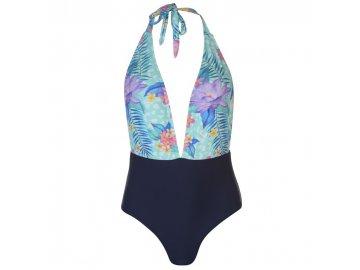 Jednodílné plavky SoulCal Trop Tropical