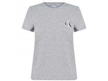Dámské triko Calvin Klein One Šedé