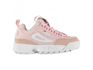 Dámské boty Fila Disruptor Mesh Růžové