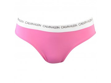 Plavky spodní díl Calvin Klein Hipster Brazilian Růžové