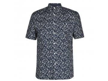 Pánská košile Pierre Cardin Geometric Navy