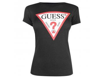 Dámské triko Guess Tee Černé