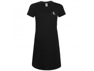 Šaty Calvin Klein ONE Jersey Černé