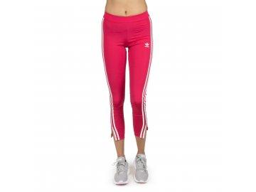 Dámské legíny adidas Originals 3 Stripes Růžové Červené