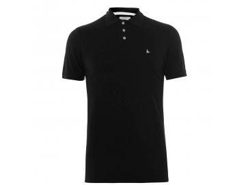 Pánské triko Jack Wills Aldgrove Polo Černé