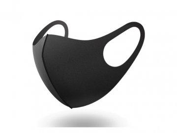 Znovuvyužitelná Rouška Černá
