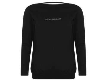 Dámský svetr Emporio Armani Lounge Černý
