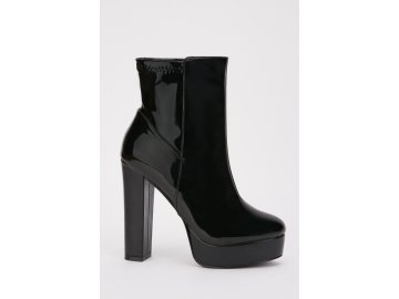 Dámské boty Dreamstock High Shine Černé