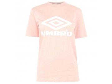 Dámské triko Umbro Boyfriend Růžové